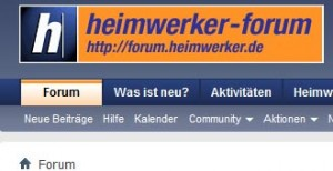 Heimwerker Forum Screenshot