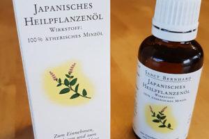 Japanisches Heipflanzenöl aus dem Kräuterhaus Sanct Bernhard