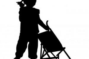 Kinderwagen: Stockflecken entfernen mit Essigwasser