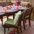 ´Polster für Gartenstühle im Winter vor Stockflecken schützen